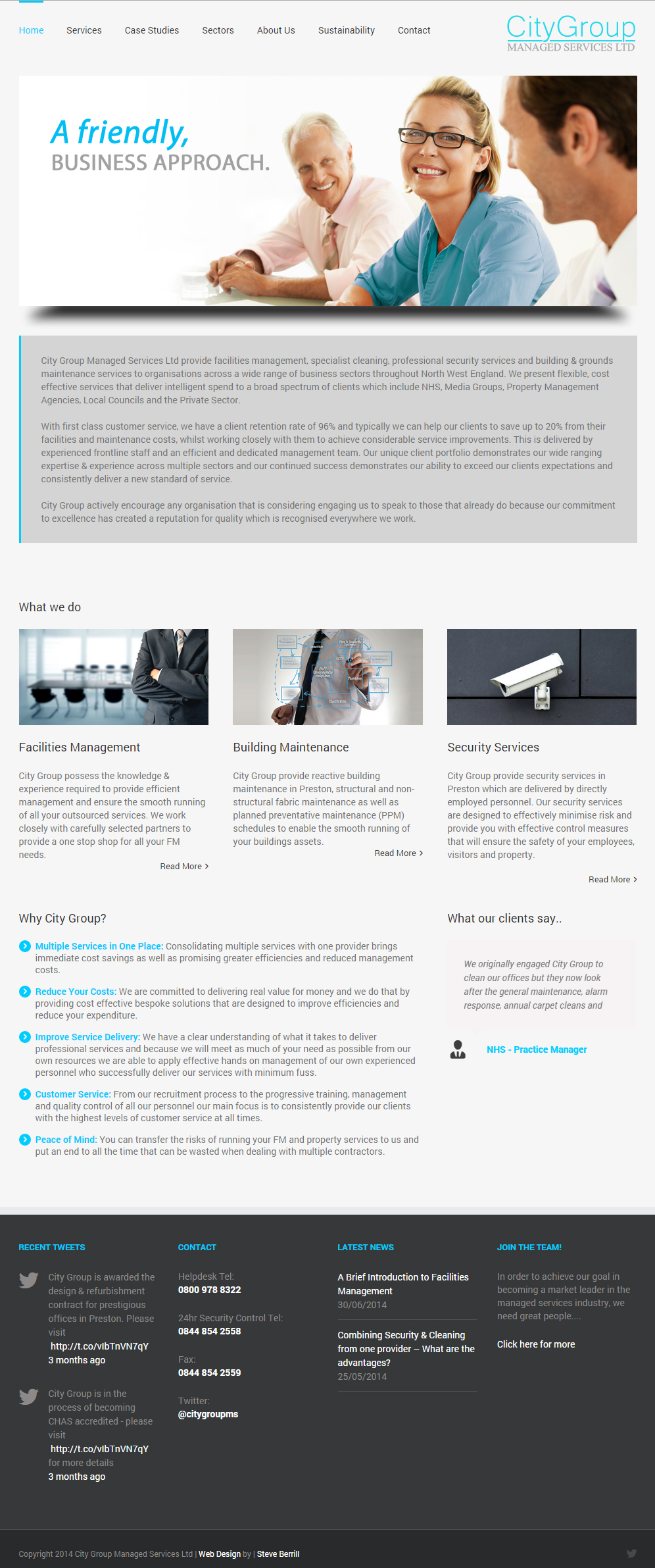 Wordpress website designed and developed.
